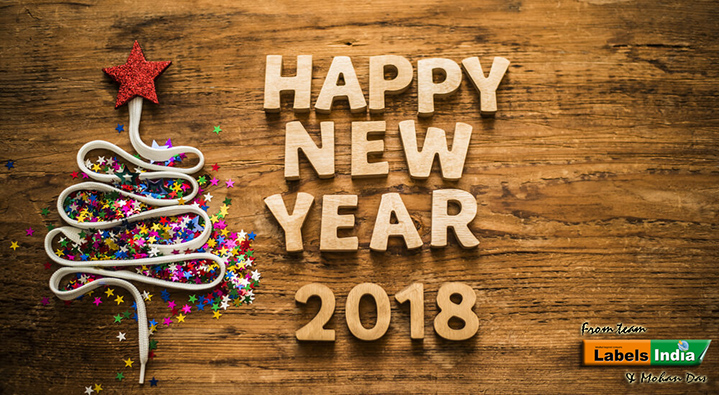labels india wishes you all a very happy new year 2018