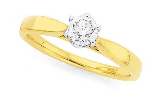 perhiasan emas cincin