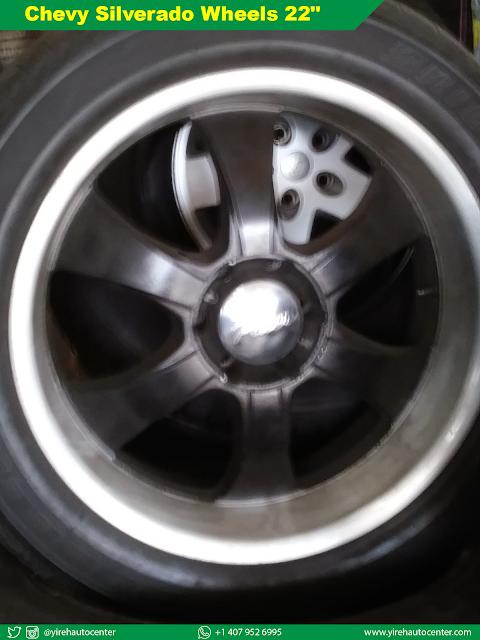 """Chevy Silverado Wheels 22"""" - Yireh Auto Center"""