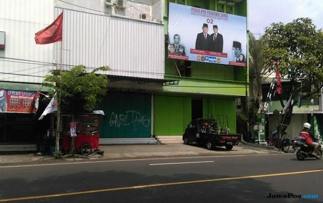 Prabowo-Sandi Buka Posko Sekitar 500 Meter dari Kediaman Jokowi