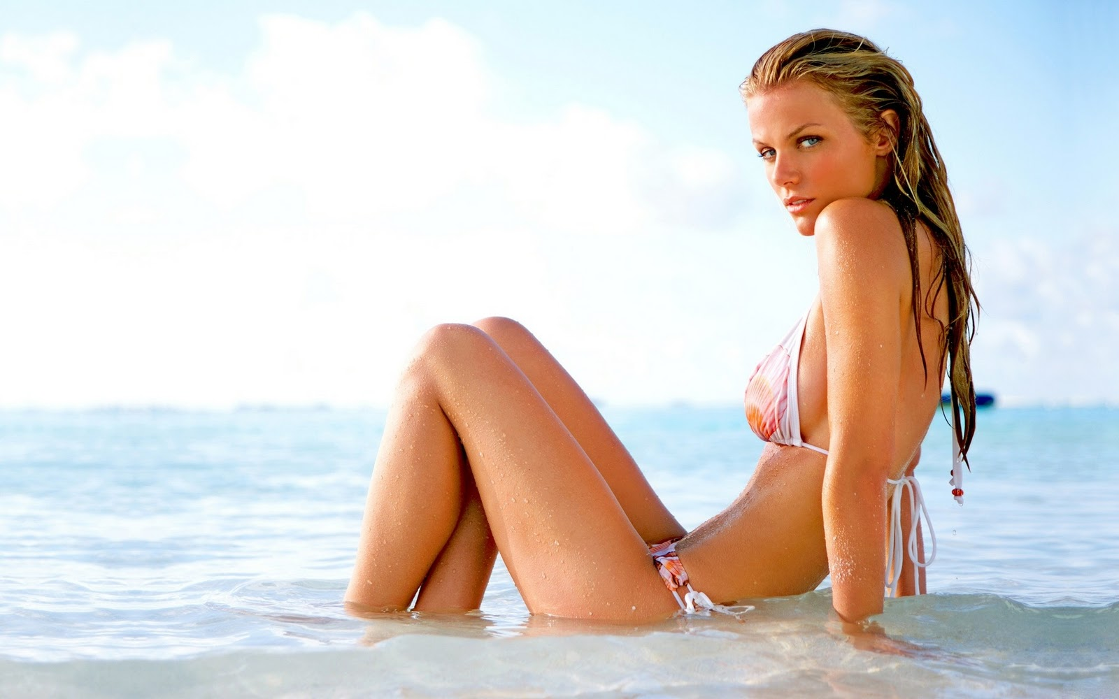 Celebrities in Hot Bikini: Brooklyn Decker