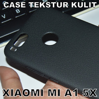 TPU-Jelly-Softcase-Leather-Texture-Case-Tekstur-Kulit-Xiaomi-Mi-A1-5X