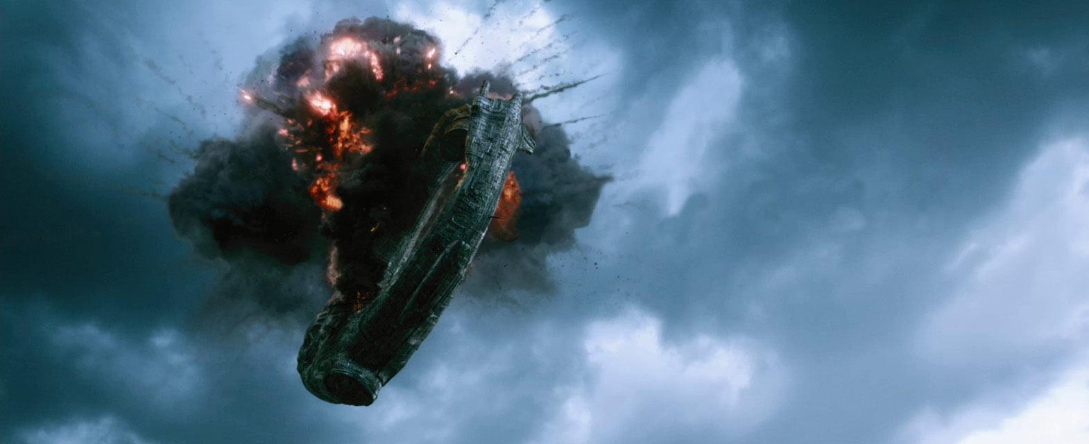 space ship crash - photo #41