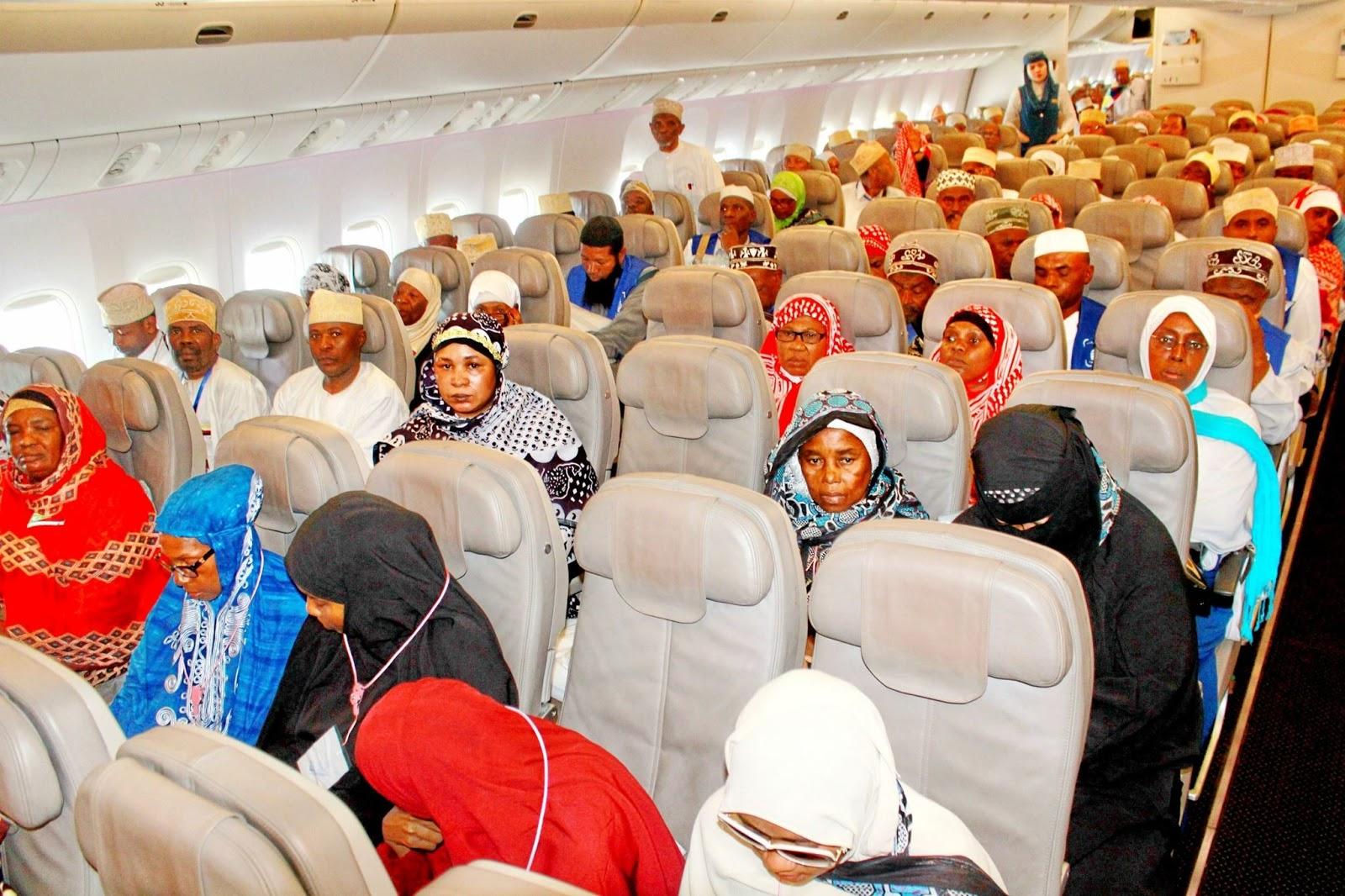 Les avions des pèlerins sans nourriture?