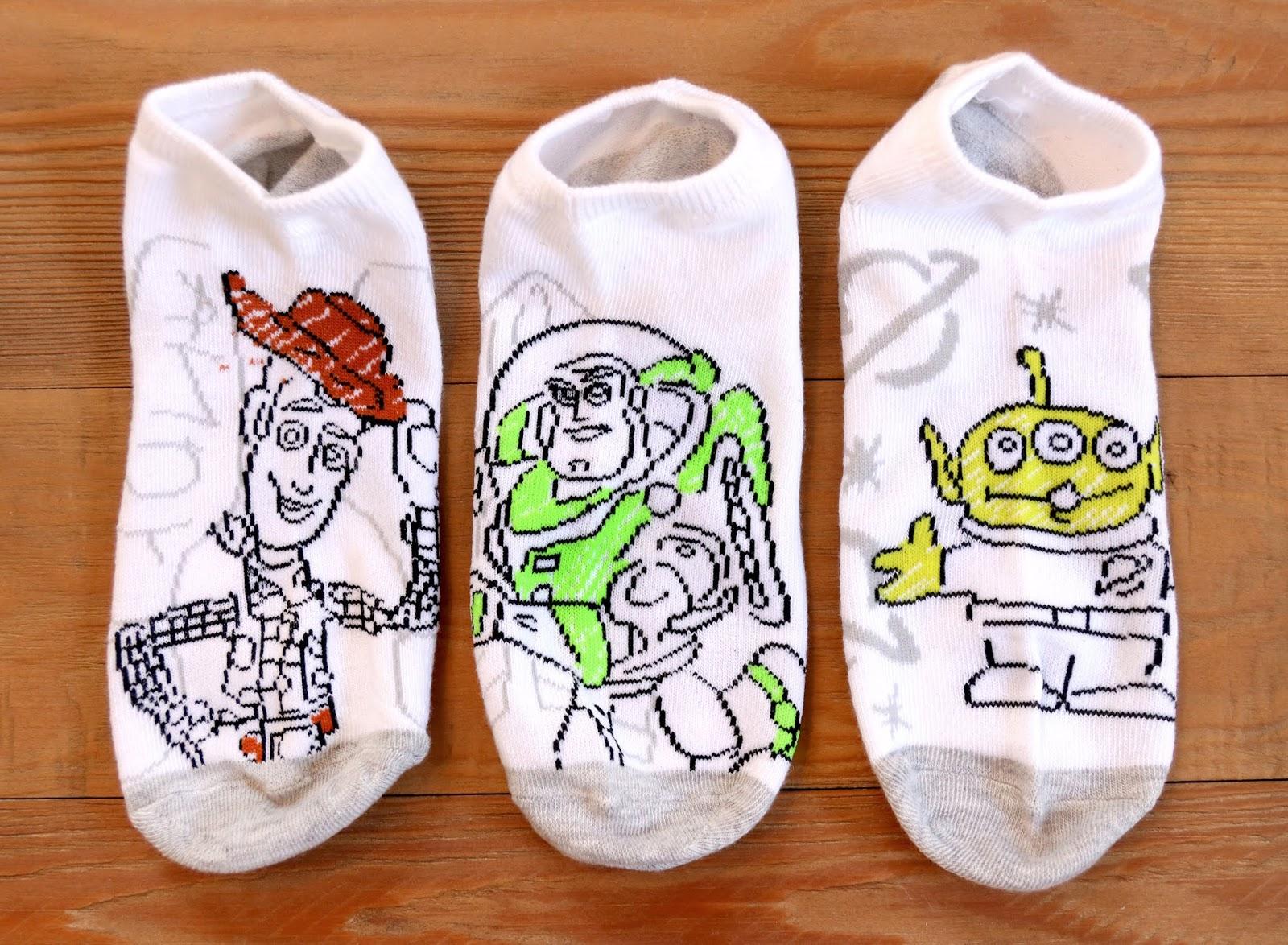 pixar characters socks