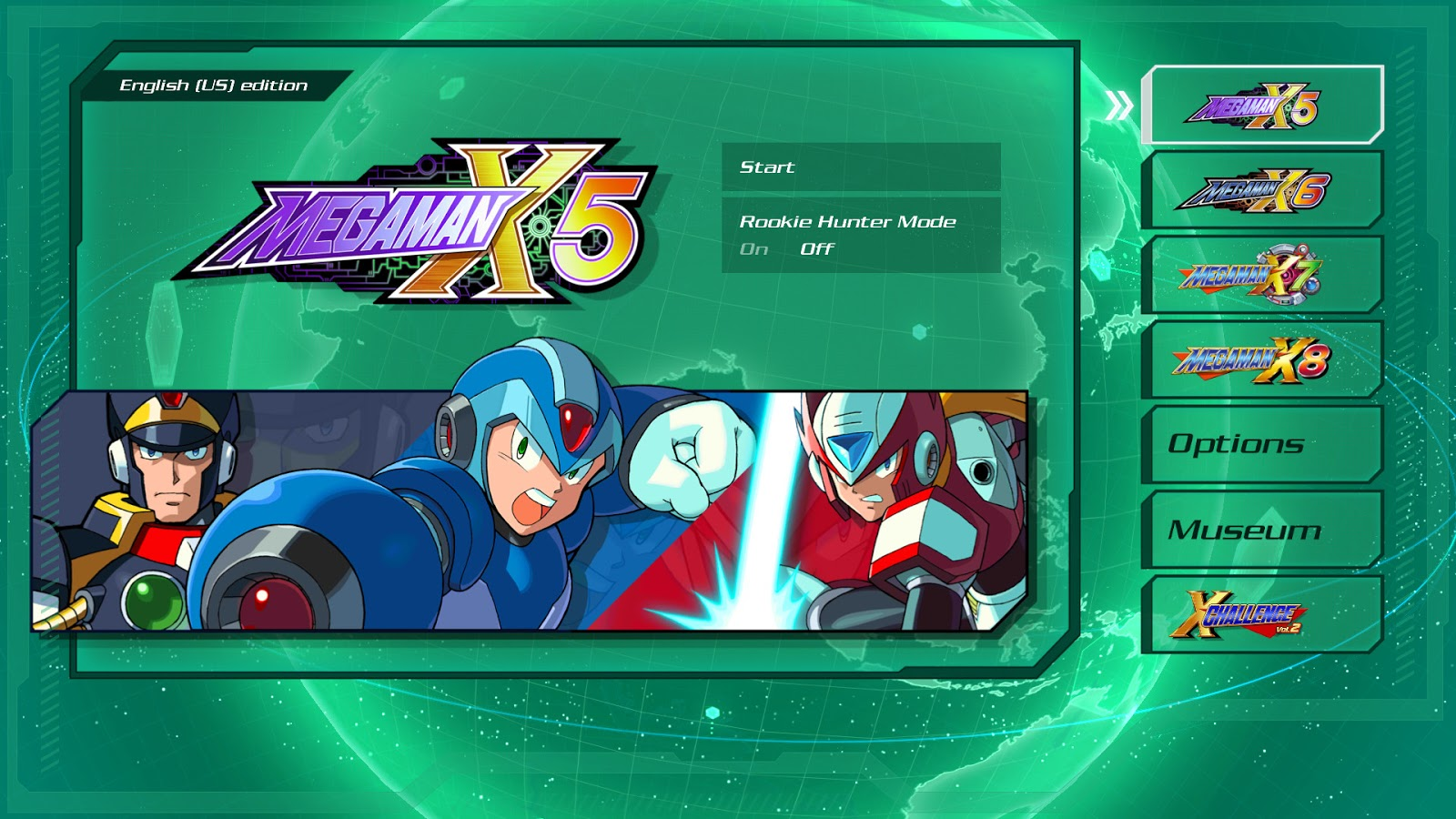 Mega Man X Legacy Collection 1+2 PC ESPAÑOL (SKIDROW) 5