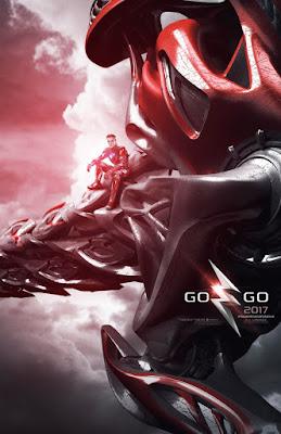 POWER RANGERS Zord Teaser Poster, Red Ranger