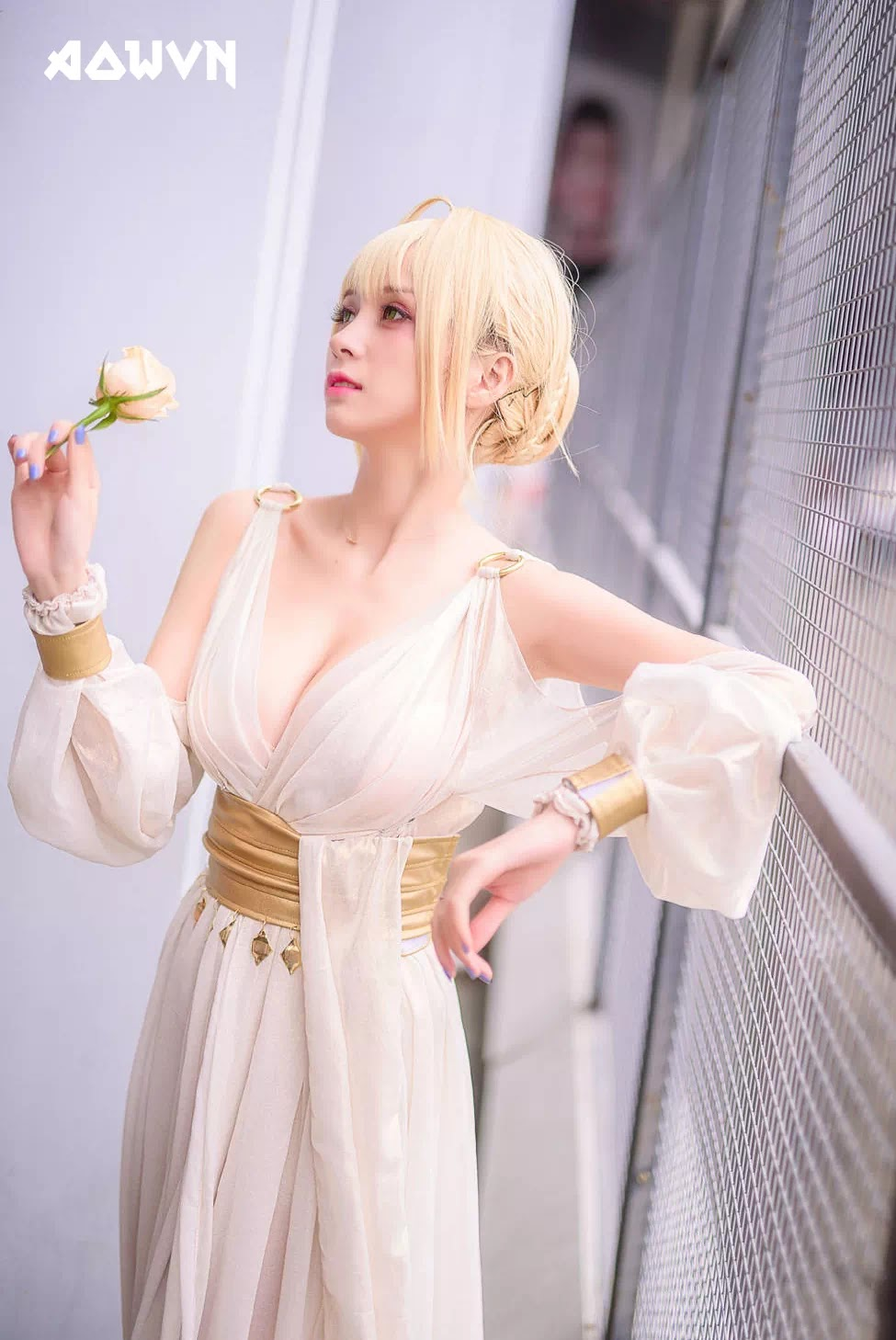 AowVN.org minz%2B%25286%2529 - [ Cosplay ] Nero - Saber anime Fate by Xia Mei Jiang tuyệt đẹp | AowVN Wallpapers