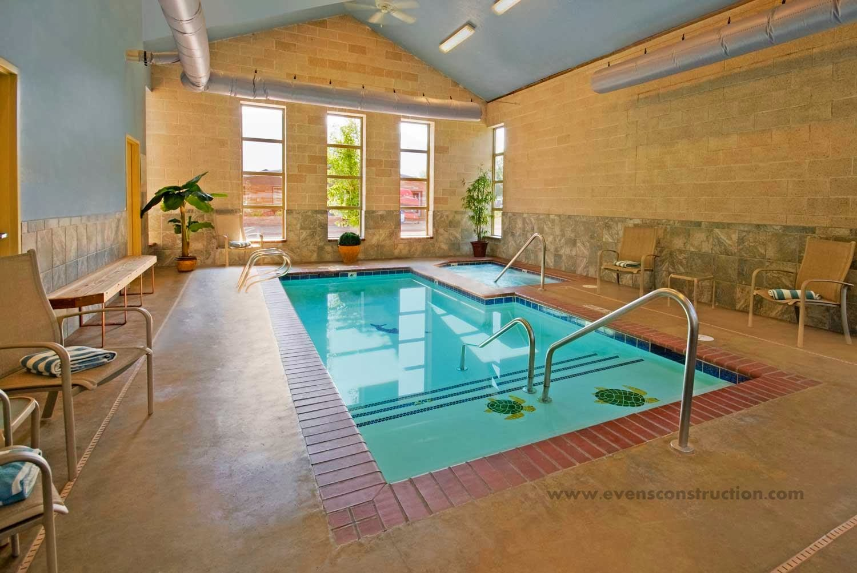 Evens Construction Pvt Ltd: Compact Indoor Swimming Pools