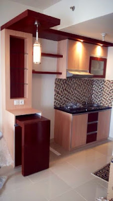 Rahasia Mendesain Interior Kitchen Set Minimalis
