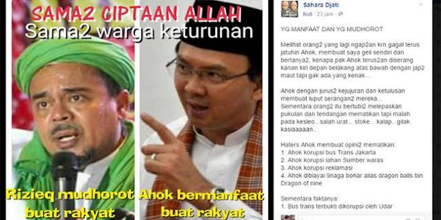 GILA! Ribuan Haters Ahok Kocar Kacir Setelah Baca Status FB Ini! Sebarkan!