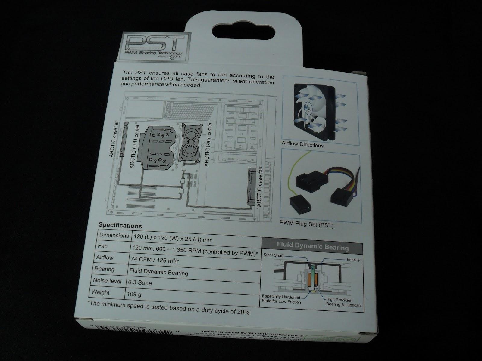 Unboxing & Review : BitFenix Spectre Pro LED 120mm 11