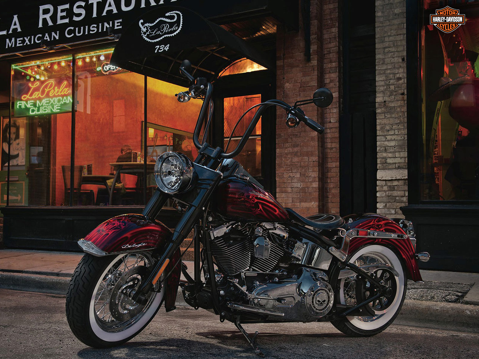 Harley Davidson 2012: 2012 HarleyDavidson FLSTN Softail Deluxe Review