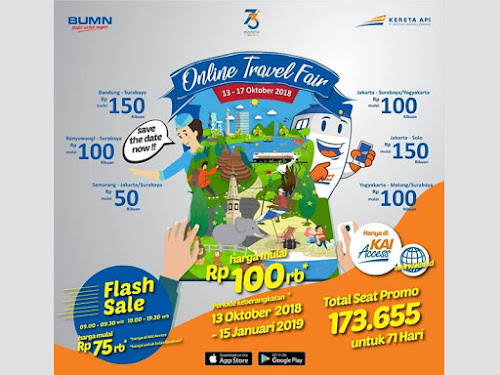 PT KAI Online Travel Fair 2018