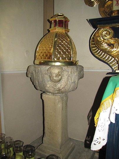 Renesansowa chrzcielnica.