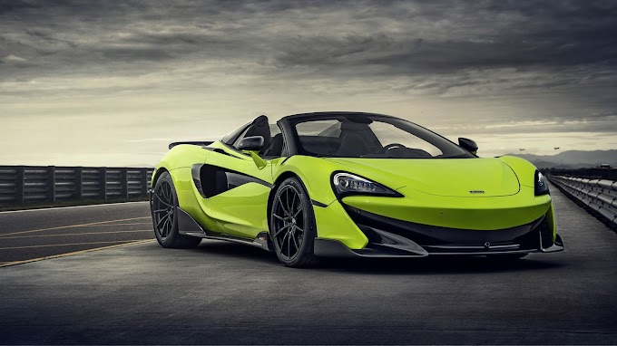 McLaren 600LT Spider Wallpaper
