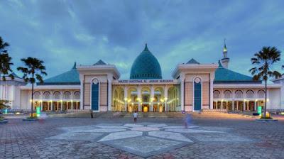 Inilah 9 Masjid yang Terdapat di