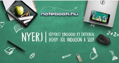 notebook.hu Nyereményjáték