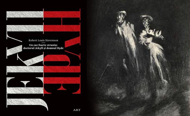 """Un caz foarte straniu: doctorul Jekyll și domnul Hyde"" Robert Louis Stevenson Art"