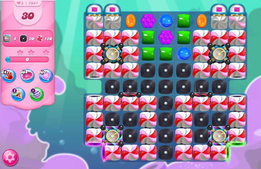 Candy Crush Saga level 7941