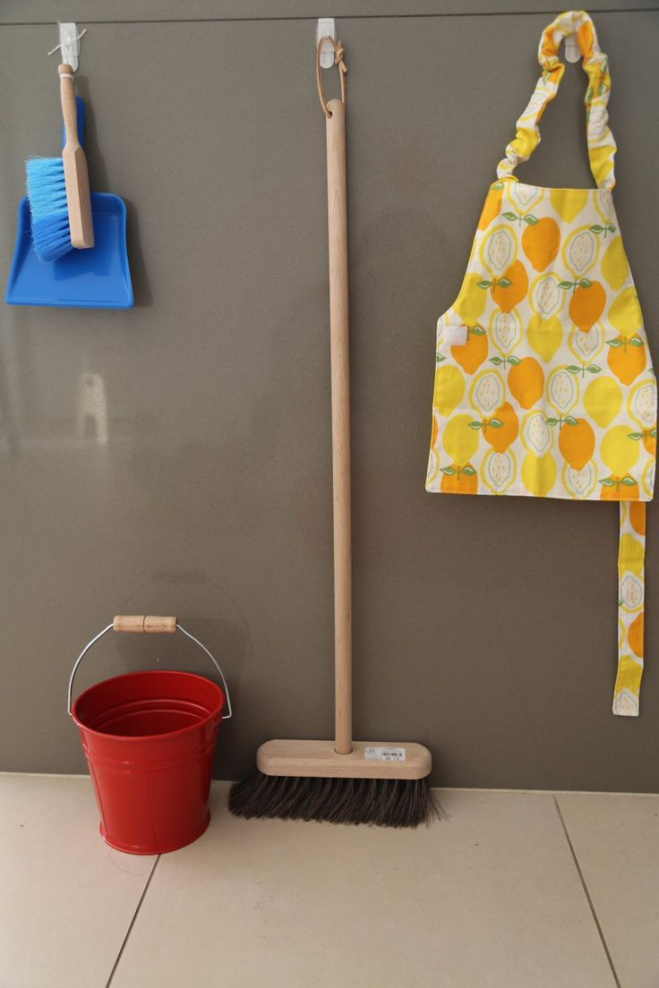 aménagement Montessori : ménage
