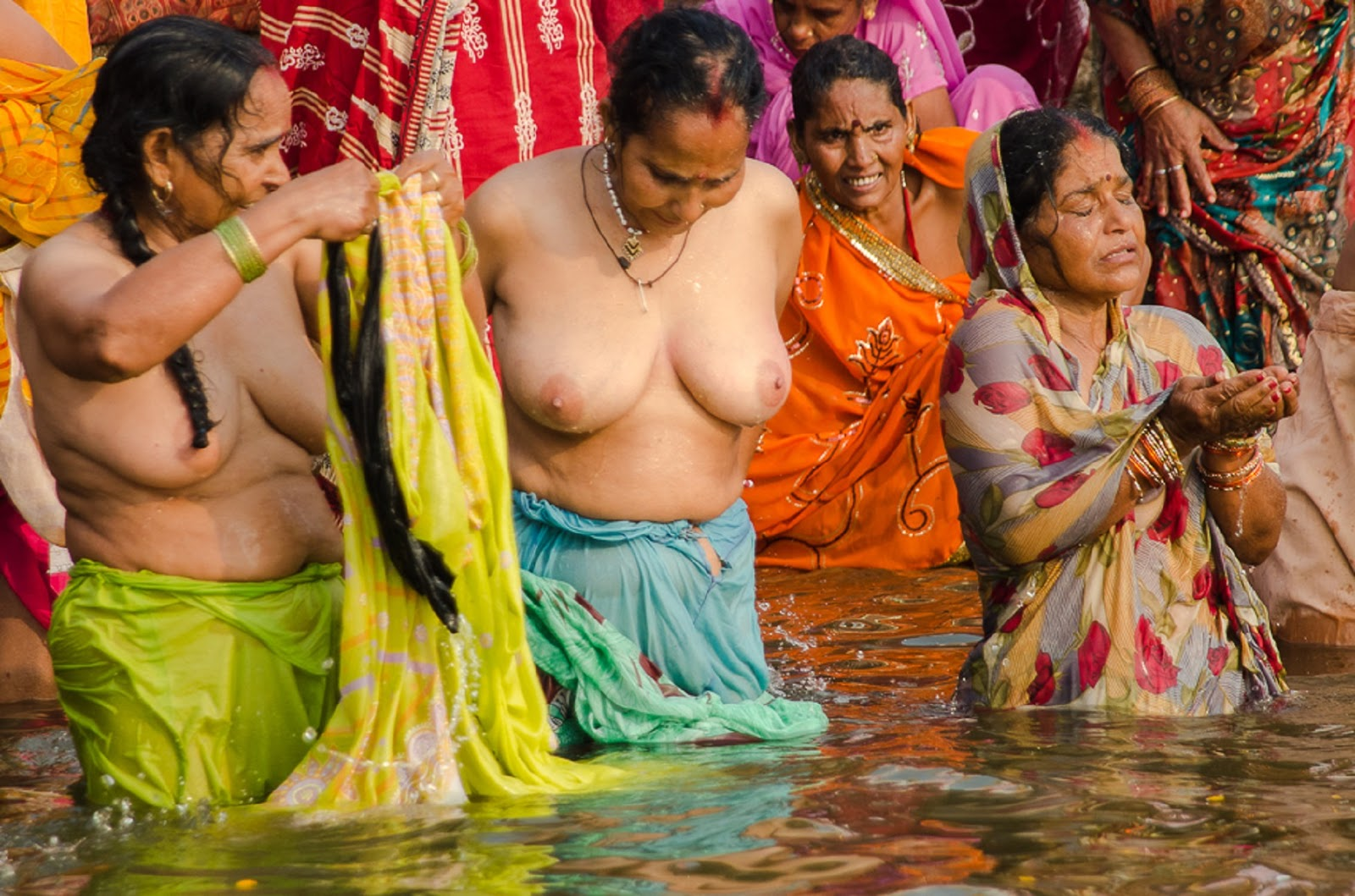 Public Nudity Project Ganges River, India-9418