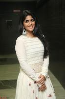 Megha Akash in beautiful White Anarkali Dress at Pre release function of Movie LIE ~ Celebrities Galleries 022.JPG