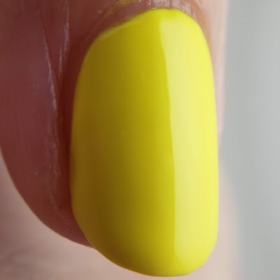 night owl lacquer, night owl, indie polish, indie lacquer, creme of the month, yellow polish