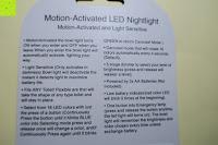 Anleitung: Bonlux Bewegung aktiviert LED-WC-Nachtlicht 16 Farben ändern Batteriebetriebene automatische Sensor-LED-Nachtlicht für Badezimmer Waschraum -WC-Schüssel Sitz Lampe [Energieklasse A+]