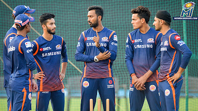 Mumbai Indians Team 2018 HD Images