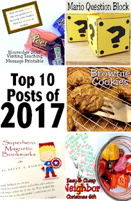 Look back on the top posts of 2018 and see all your favorite craft and party ideas.  Did you miss any of them or forget to pin them for your next party? Check them out now and save them for your next party. #diypartymomblog