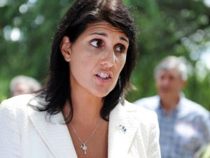 US envoy Nikki Haley