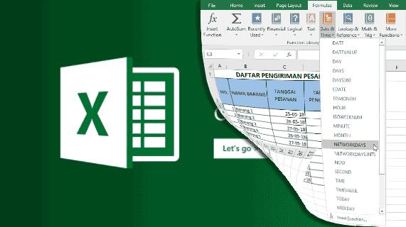 Menghitung Dengan Rumus Fungsi di Excel 2016