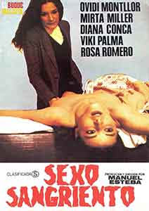 Sexo Sangriento de Manuel Esteba edutada en DVD por El Buque Maldito.