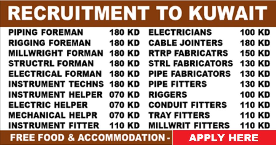 GULF JOBS - KHARAFI NATIONAL - RECRUITMENT TO KUWAIT | All Gulf Vacancy