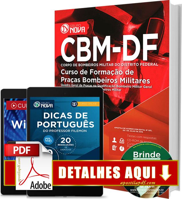 Apostila Bombeiro DF 2016 Impressa