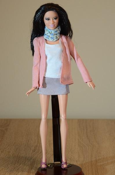 Handmade clothes for Barbie.