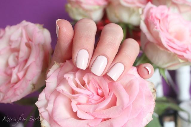 blush pink nail polish