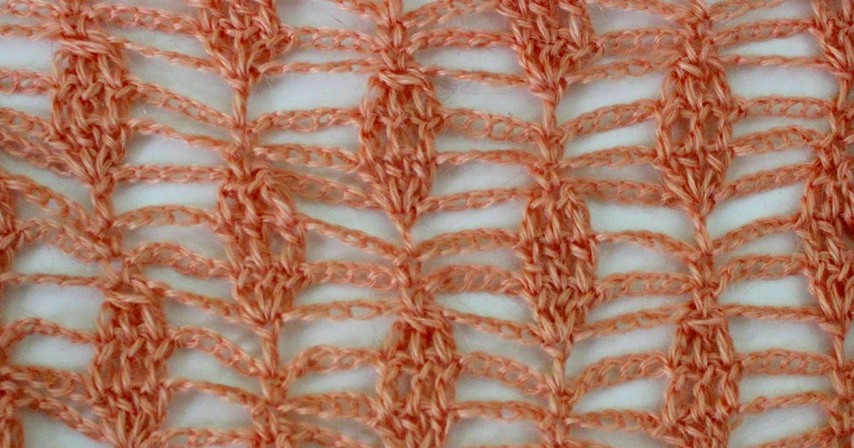 Lacy Crochet: Crochet Lace Stitch