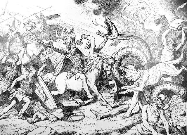 Resultado de imagen de ragnarok mitologia
