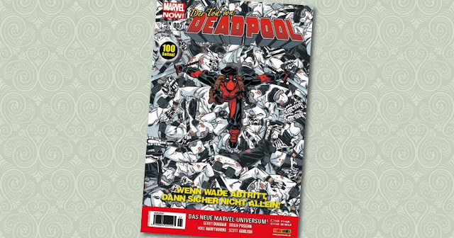 Deadpool Special 7 Panini Cover