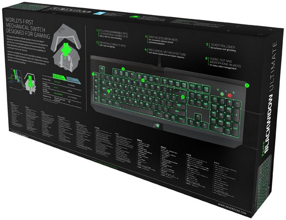 Razer BlackWidow Ultimate Elite Mechanical Gaming Keyboard