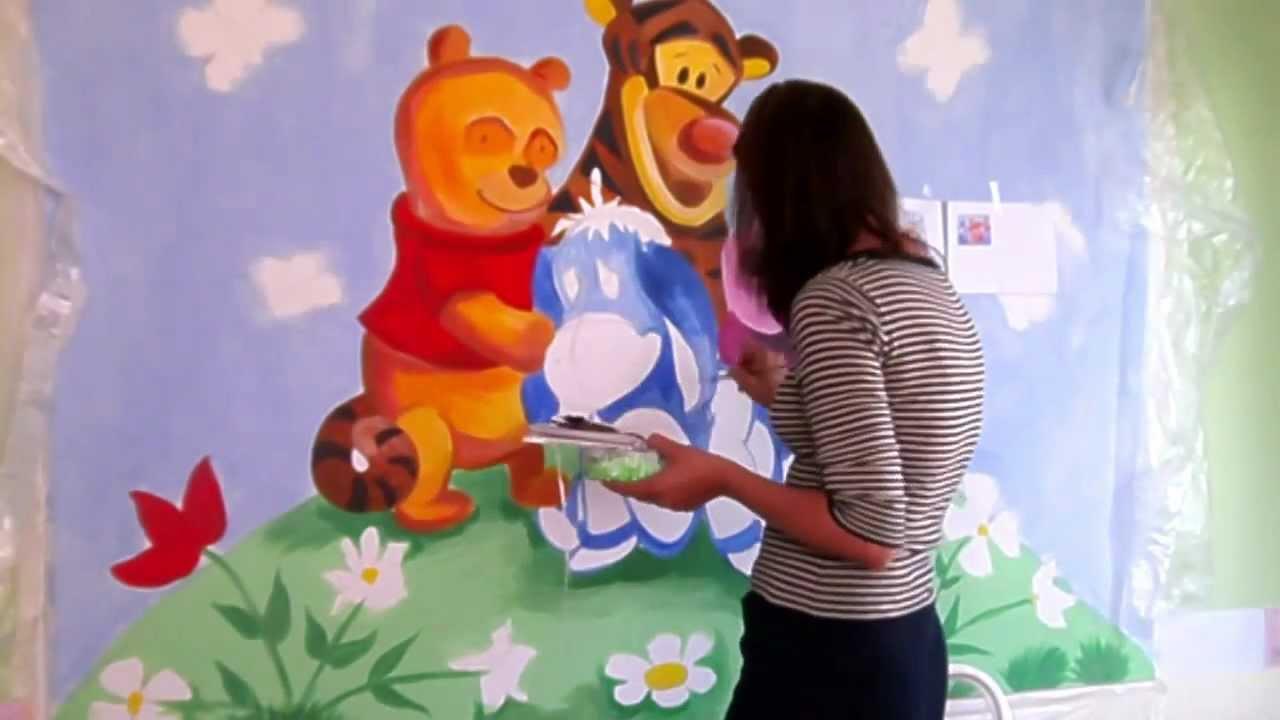 Bilder für kinderzimmer selber malen  kinderzimmer ausmalen ideen - Home Creation