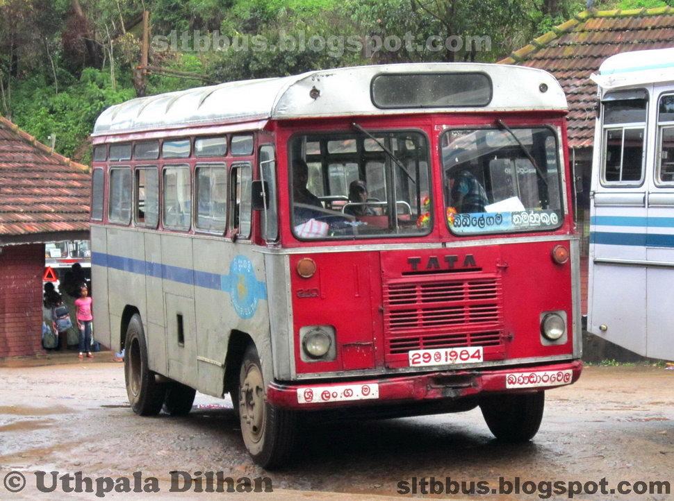 SLTB buses - ශ්රී ලංගම බස්: Ruby bodied TATA 1210/36 bus ...