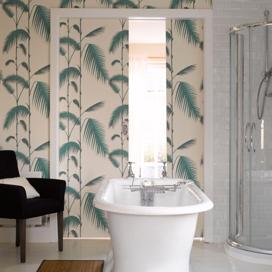 Bath Wallpaper Ideas: Princess Anne County: Fecund Fern