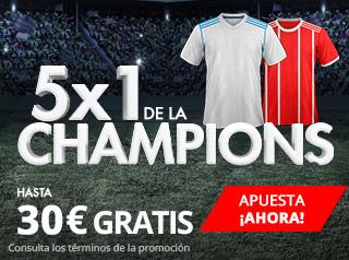 suertia promocion champions Real Madrid vs Bayern 1 mayo