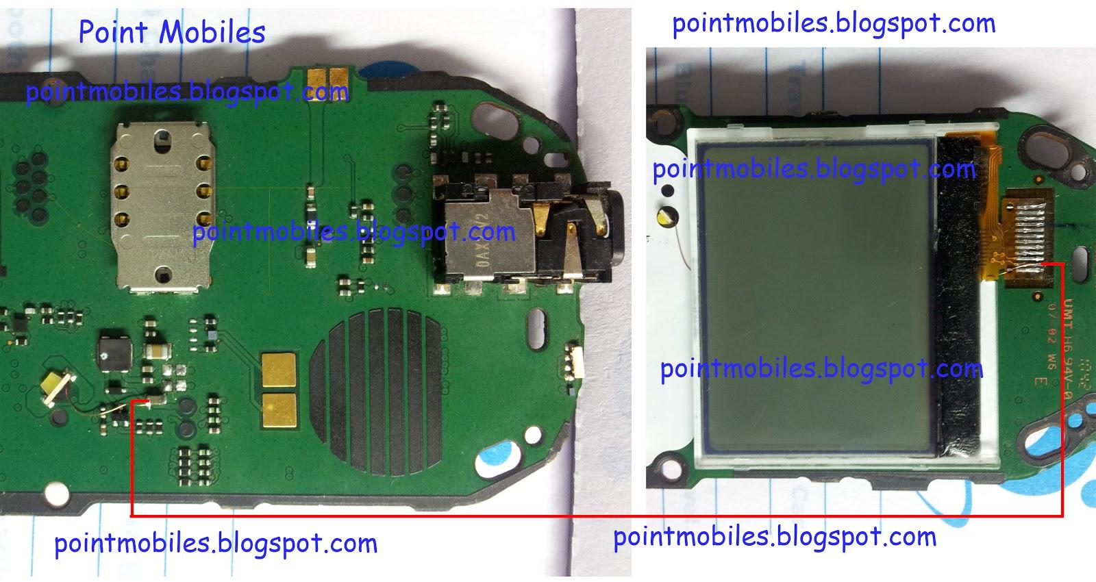 Point Mobiles  Nokia 1280 Display Light Ways