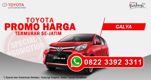 Promo Harga Toyota Calya Surabaya