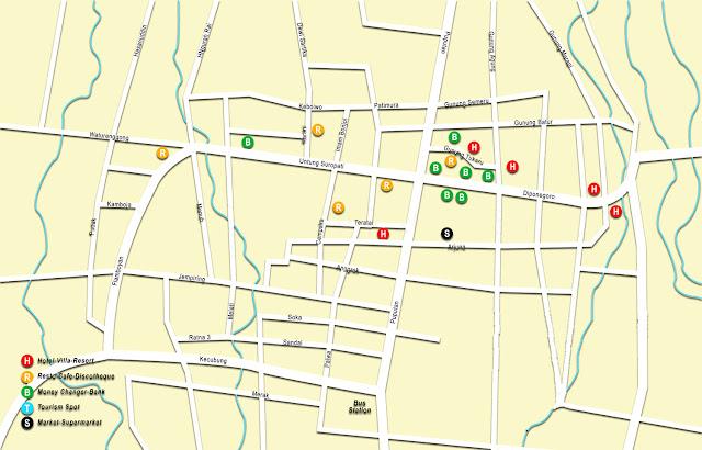 Gambar Peta Semarapura Bali