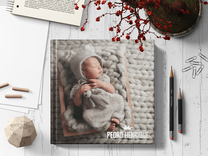 Como fazer um fotolivro personalizado - Fotolivro Newborn